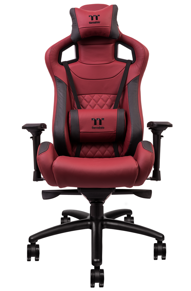Thermaltake Gaming X fit Real Leather Edition Burgundy Red 1