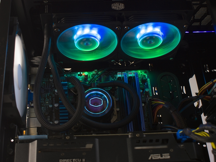 Cooler Master MasterLiquid ML240P Mirage 46k