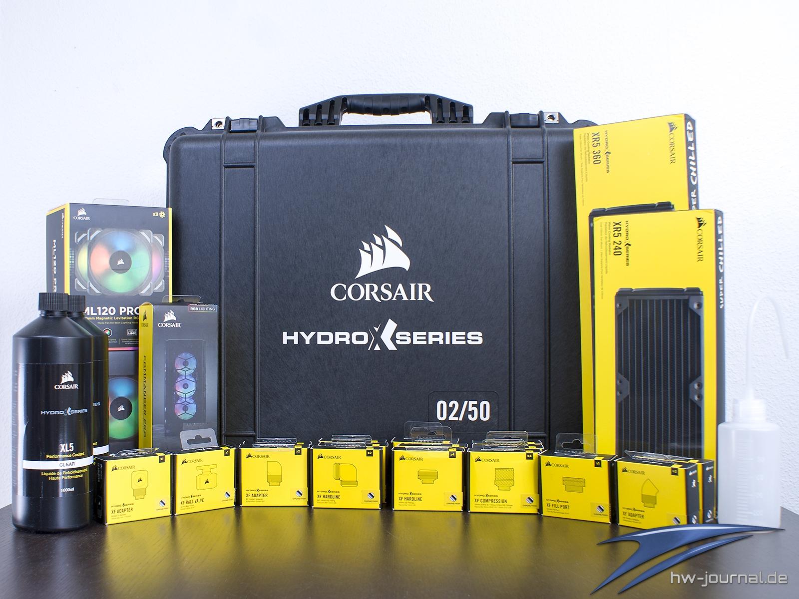 XXL Test: Corsair Hydro X Wasserkühlung Hardware Journal