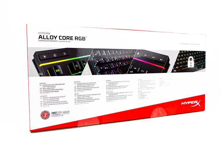 HyperX Alloy Core RGB 4
