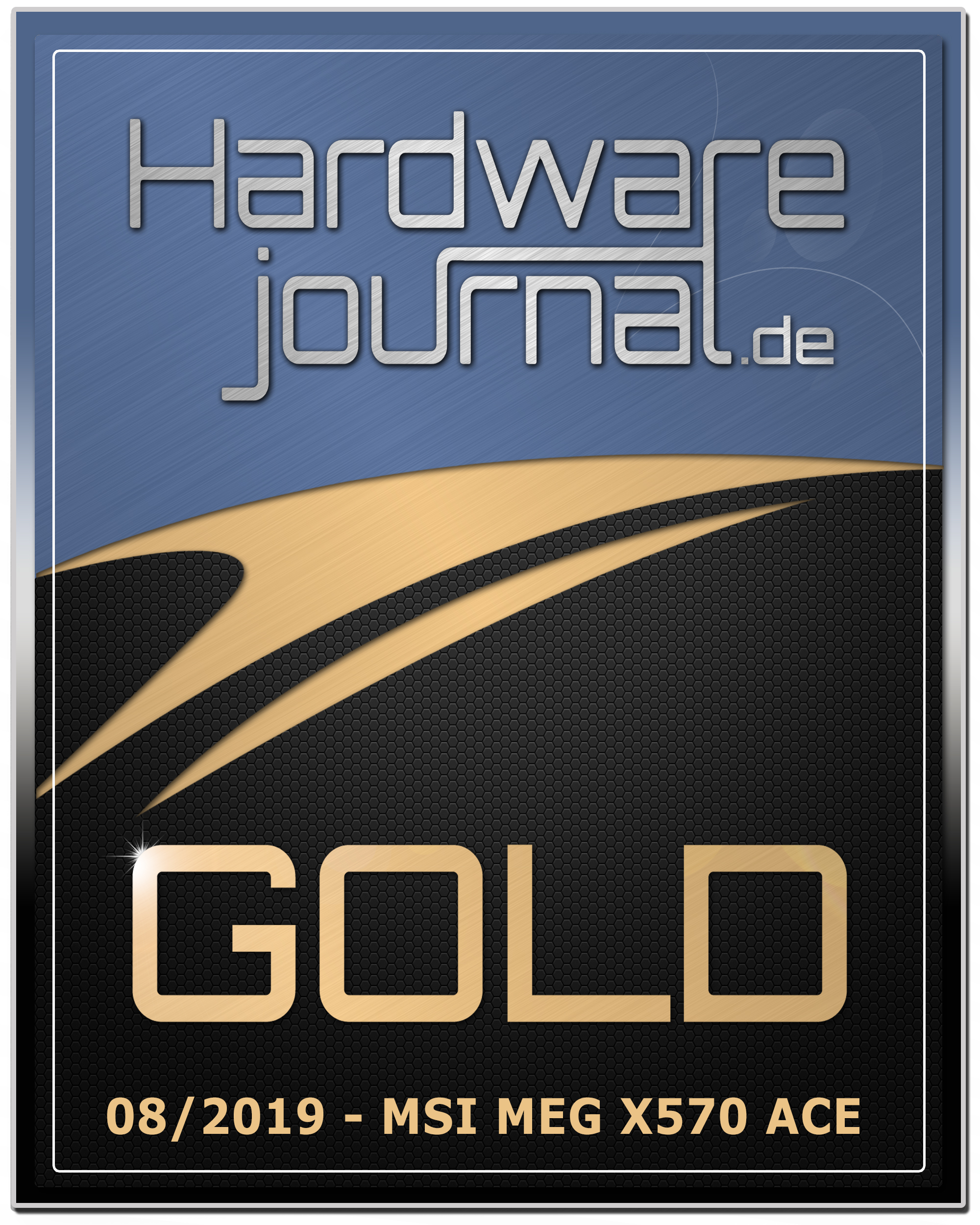 MSI MEG X570 ACE Gold Award Hardware Journal