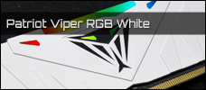 Patriot Viper RGB DDR4 3200 White 16 GB Newsbild