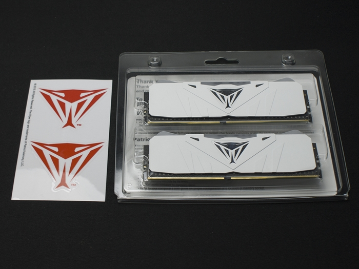 Patriot Viper RGB White DDR4 3200 16GB 1k