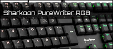 Sharkoon Pure Writer RGB news