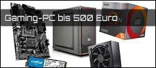 Gaming PC bis 500 Euro