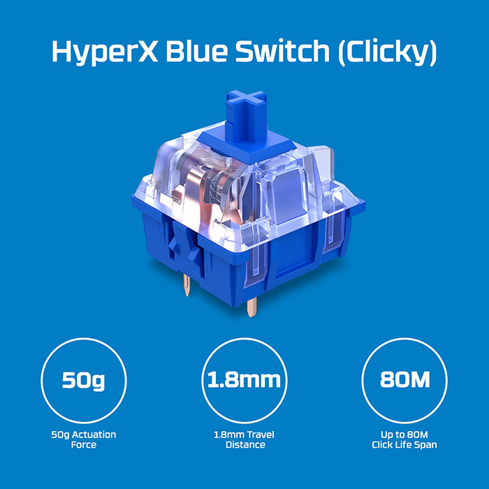 HyperX Blue Switch 1