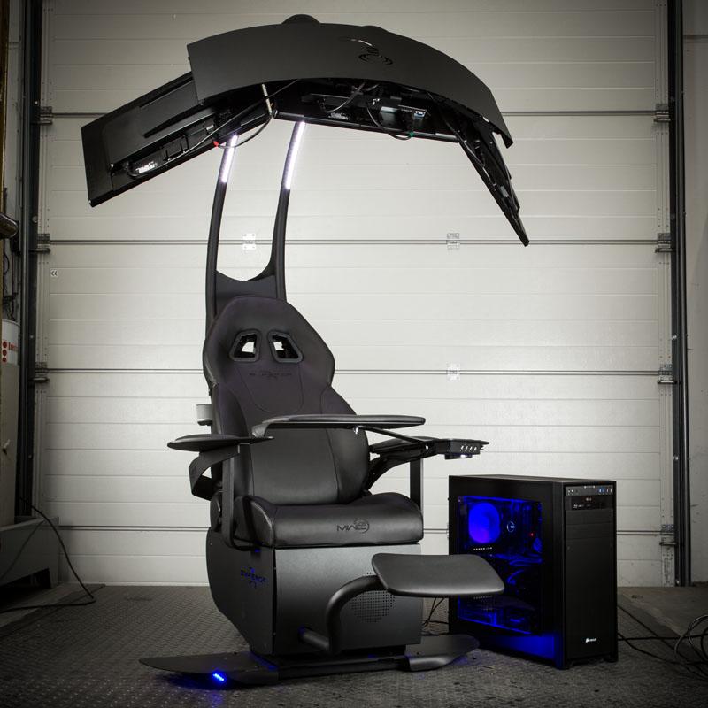 MWE Lab Emperor Chair 1510: Gaming Sessel für 4.999 Euro