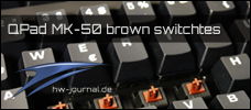 QPAD MK-50 MX-Brown