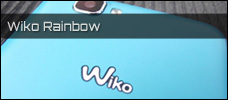 Test: Wiko Rainbow