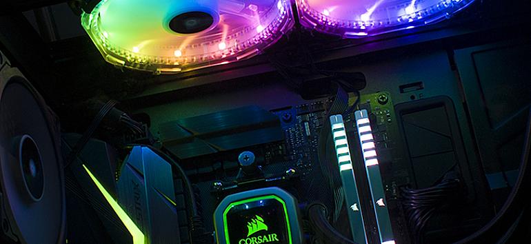 Corsair Commander Pro & HD140 LED RGB