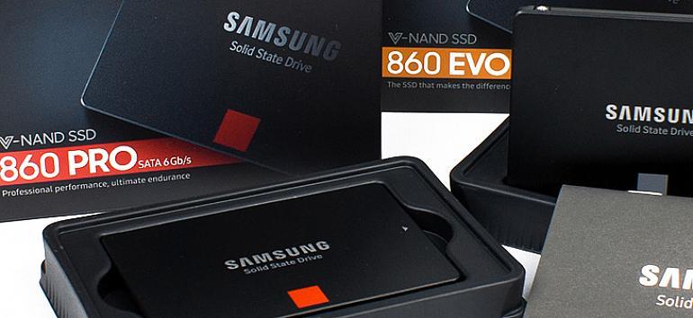 Test: Samsung 860 Pro - 860 Evo