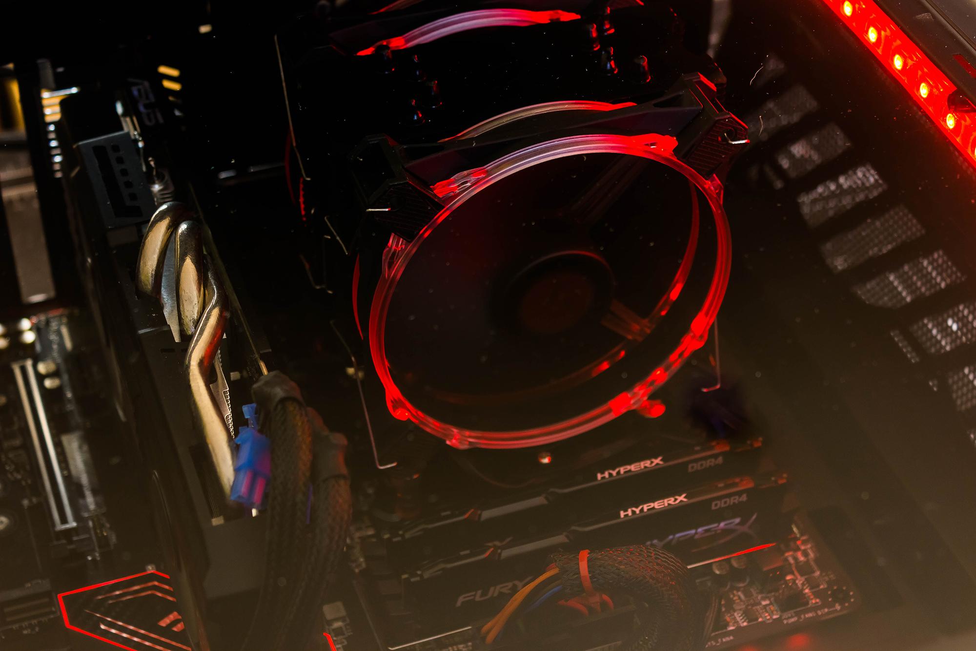 Beleuchtung Rot